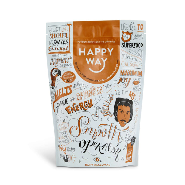Smooth Operator Salted Caramel Protein Powder 500g,Protein,Happy Way,Happy Way