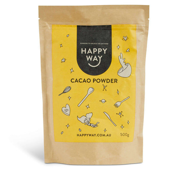ORGANIC RAW CACAO POWDER (500g),SUPERFOOD,Happy Way,Happy Way