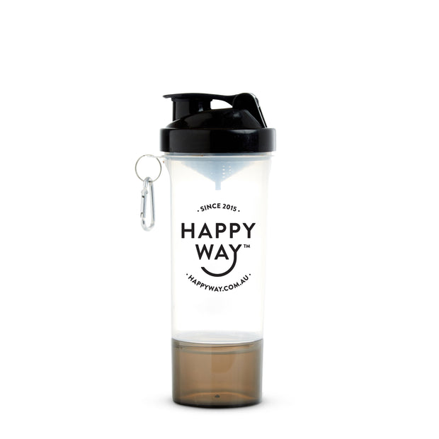 Happy Way Shaker (400ml) - Black