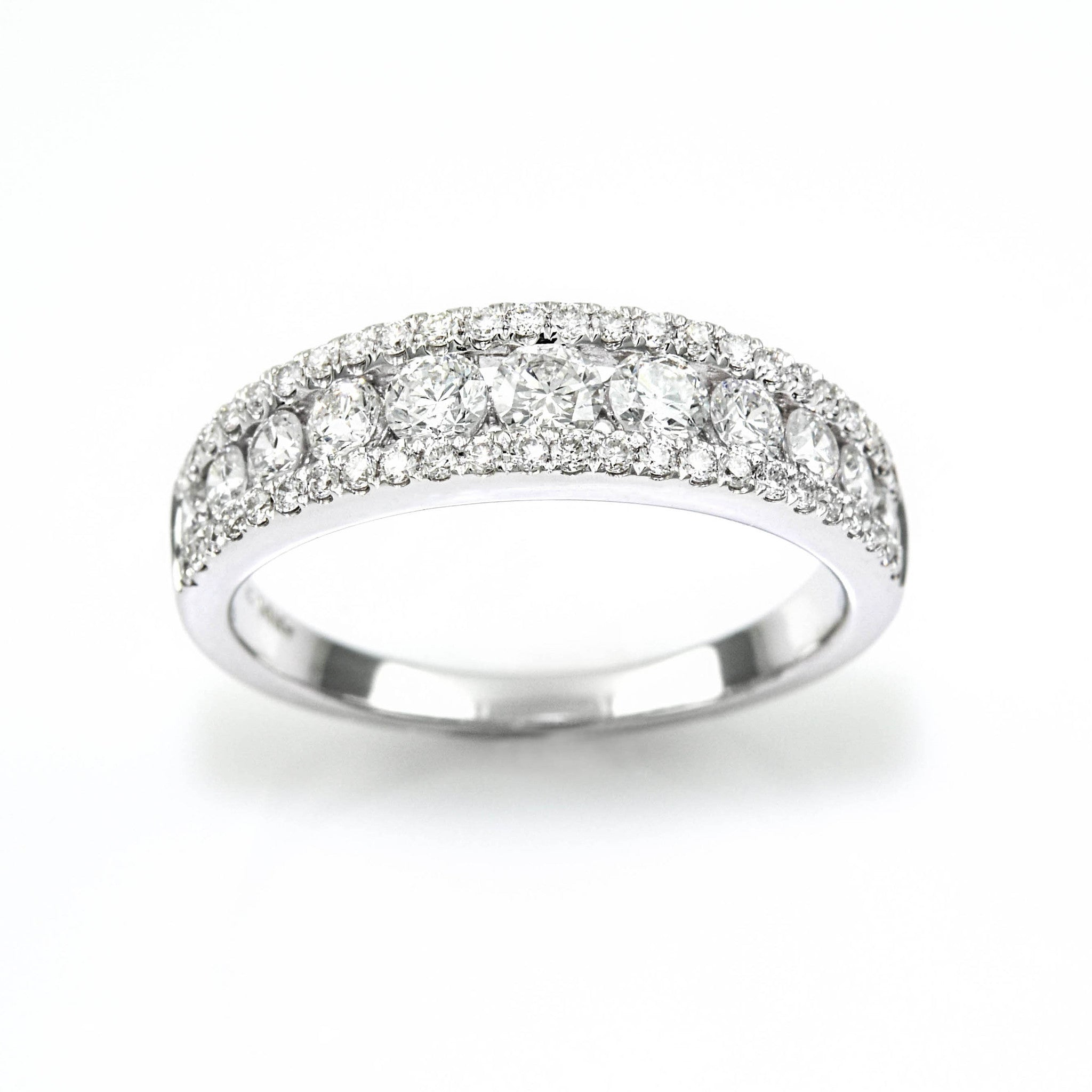 products bands row diamond ring band little three ctw switzerland