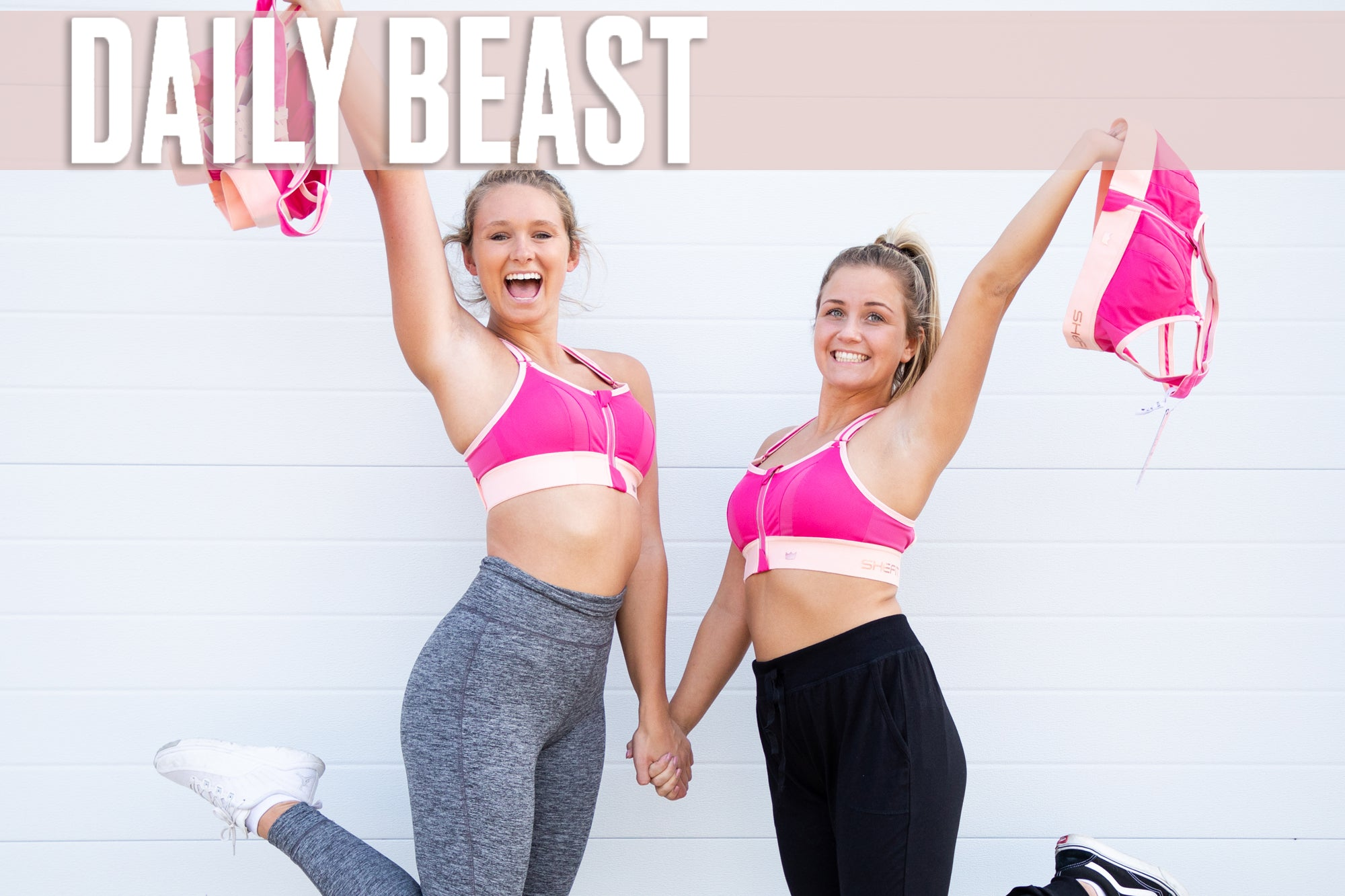 Daily Beast: Finding the Perfect Sports Bra
