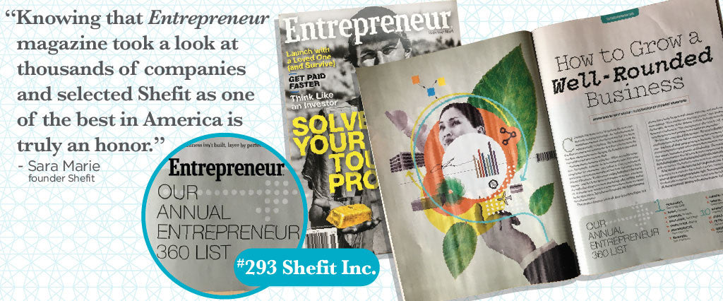 PRESS RELEASE: Shefit Named to Entrepreneur 360™ List