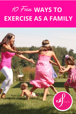 10 Fun Ways to Exercise as a Family
