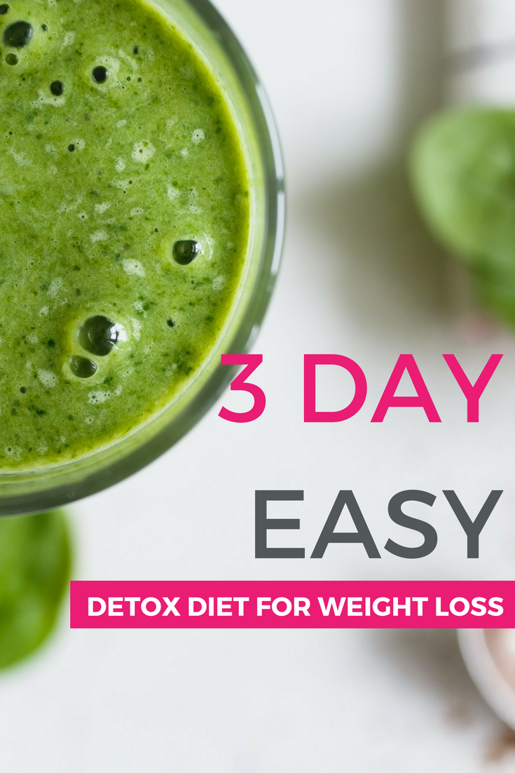 easy detox diets to follow