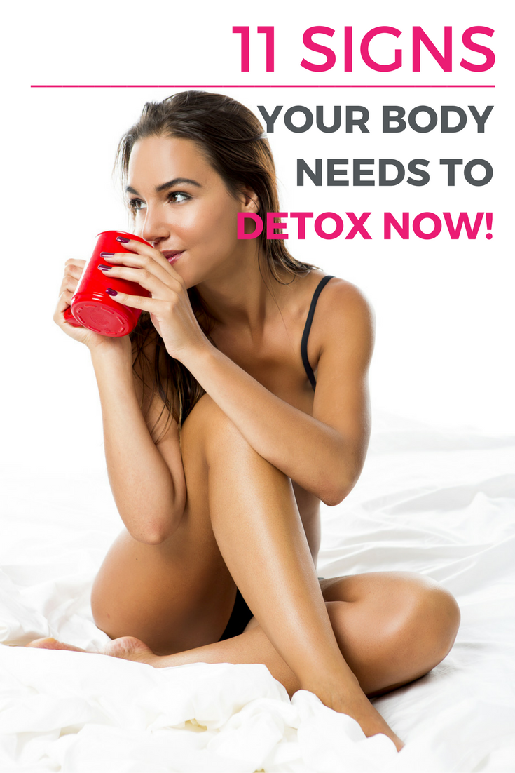 11 Signs Your Body Needs to Detox (Or Cleanse) – Now! | Detoxing eliminates the body of toxins stored in fat cells and increases metabolism. If you're only looking to lose a few pounds, a detox for weight loss might be a great solution for you.  | Health + Wellness Tips @shefit