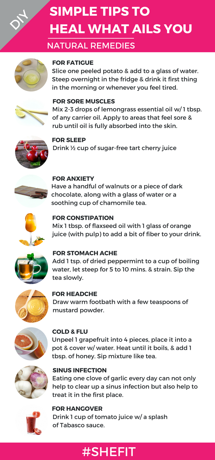 Cold & flu season is upon us & that means more of us are reaching into the medicine cabinet to find a quick fix for colds, for sinus infections, and for headaches– among other things! But have you ever thought to try natural remedies that you can easily make from your own home? Read on to discover how to make these effective & inexpensive natural remedies quickly & easily in your own home! #Shefit High Impact Sports Bra for Big Busts #SportsBraForGym #ActiveWearWomen #FitnessGear #SportsWear