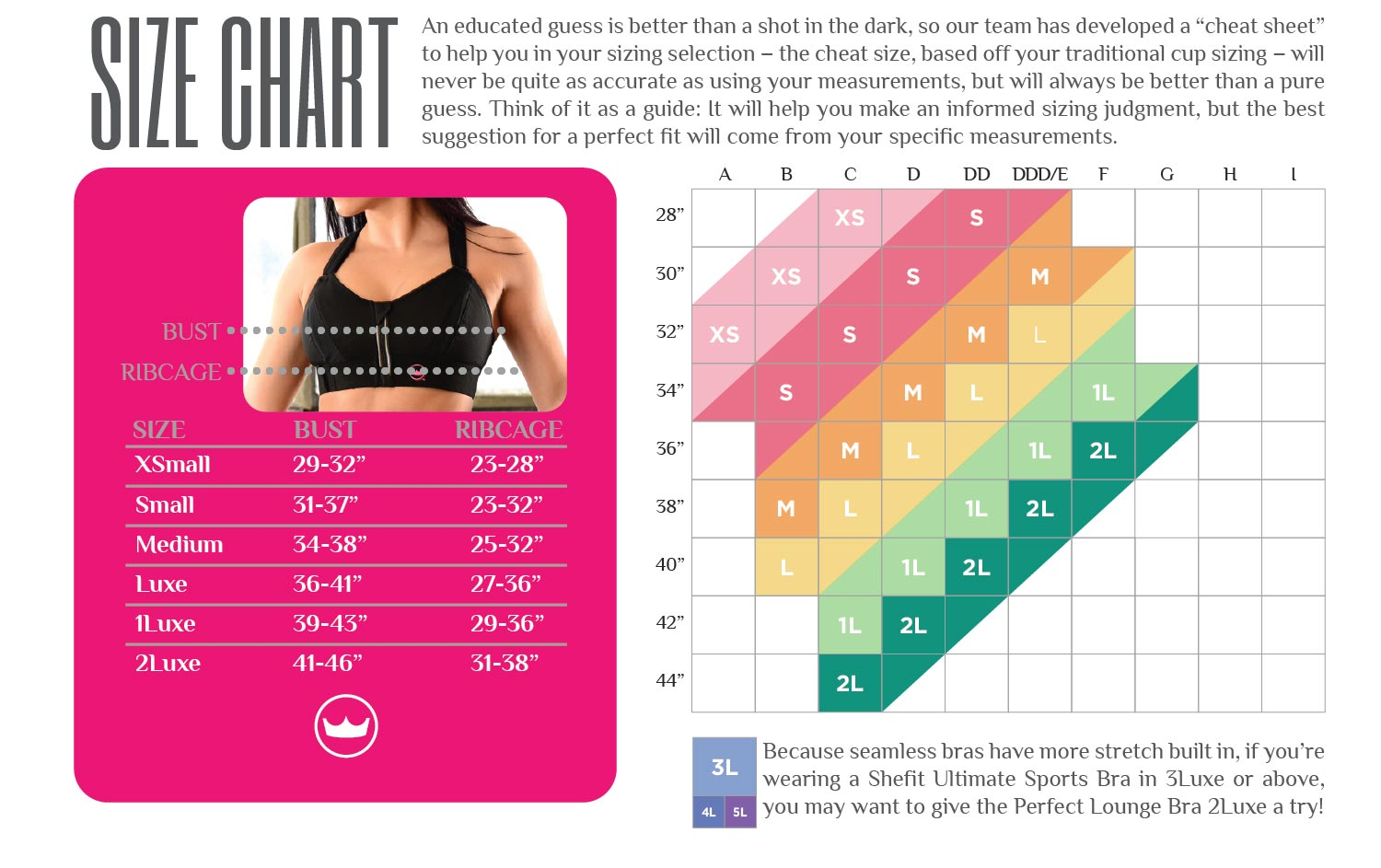 Shefit find your perfect fit with proper measurements