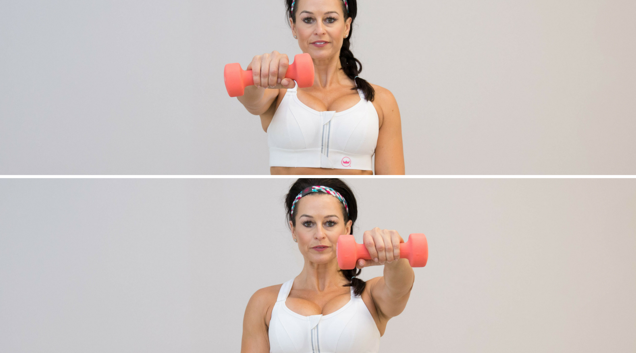 Sculpted shoulders can make your waist appear smaller, your hips more narrow and your body appear more proportionate overall. So to build those sexy shoulder muscles, grab a pair of dumbbells and get ready to do some fat-burning exercises that are guaranteed to sculpt those shoulders in no time! This simple shoulder workout for women can be done at home or use it as part of your routine for the gym. | #Shefit At Home Fitness Workouts For The Gym | Upper Body + Toned Arms