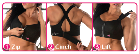 Zip. Cinch. Lift.
