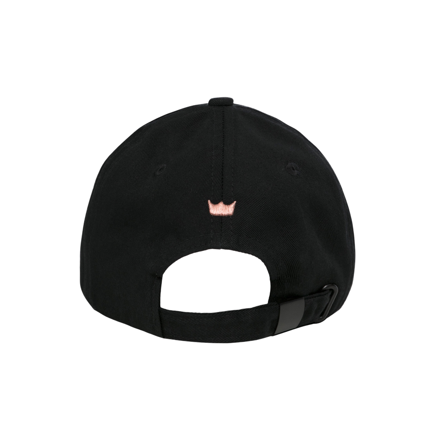 Shefit Faux Leather-Brimmed Baseball Cap