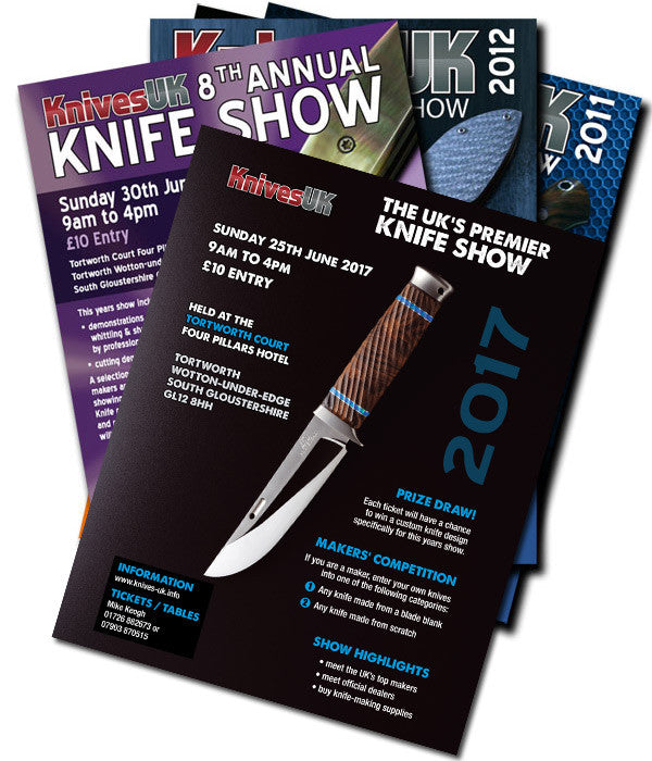 What to expect at the uk knife show 2017