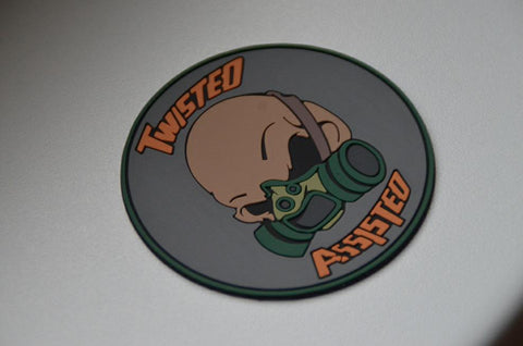 Twisted Assisted PVC Morale Patch