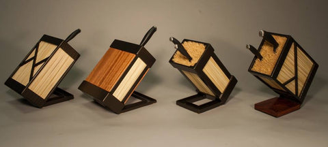 TerraSteel Furniture Design - Custom Furniture Design in Bend Oregon - Kitchen Knife Blocks