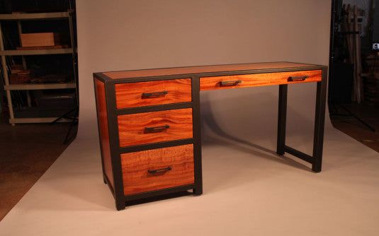 Charmant ... Custom Desk   TerraSteel Furniture Design   Custom Furniture Made In  Bend, Oregon ...