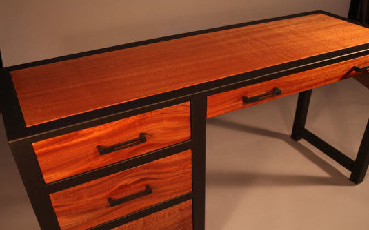 ... Custom Desk   TerraSteel Furniture Design   Custom Furniture Made In  Bend, Oregon ...