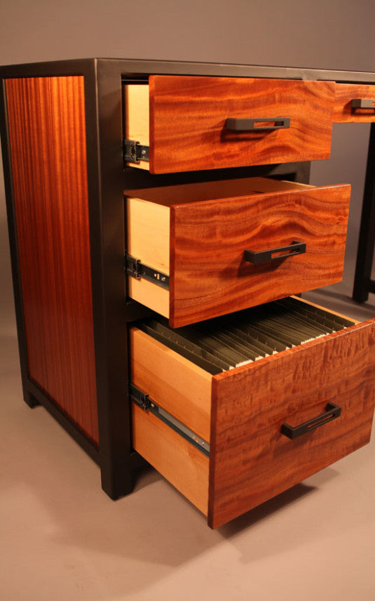 Custom Desk   TerraSteel Furniture Design   Custom Furniture Made In Bend,  Oregon ...