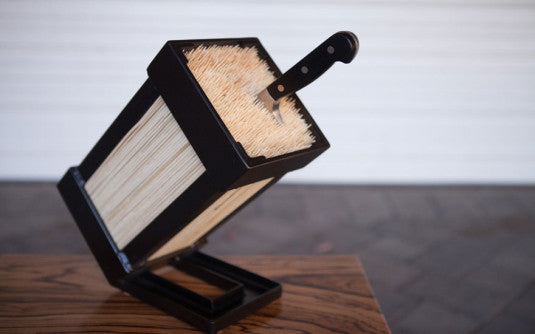 ... Custom Culinary Knife Blocks   TerraSteel Furniture Design   Made In  Bend, Oregon ...