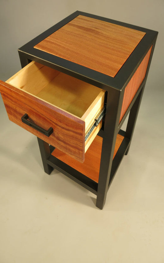 Merveilleux Custom Side Table   TerraSteel Furniture Design   Custom Furniture Made In  Bend, Oregon ...