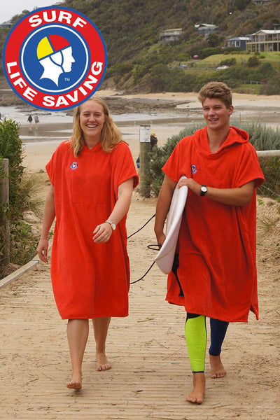 Surf Life Saving Australia Hooded Change Towel (Red)