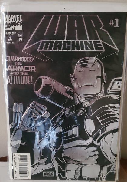 War Machine #1 (1994)