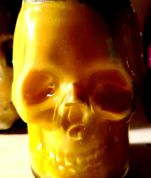 Spauldings Chicken - Skull Candle