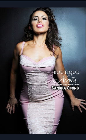Sandra D owner of Boutique Noir in Veronica Magazine