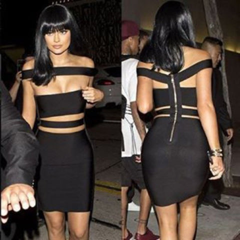 Kylie Jenner Bandage Dress