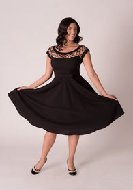 Tatyana Alika Circle Dress In Black