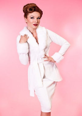 Heart Of Haute Divine Jacket in Ivory