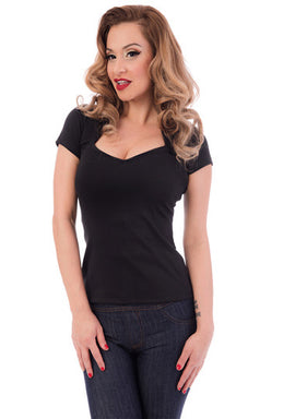 Steady Clothing Sophia Top in Black
