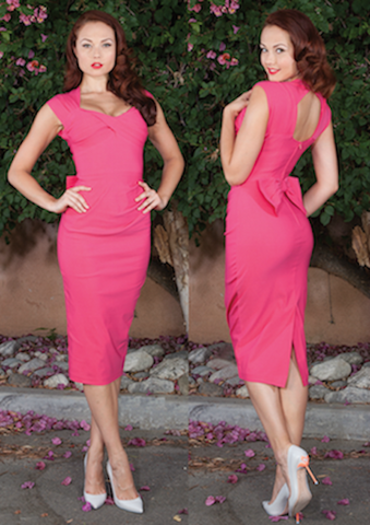 Stop Staring! Love Dress in Hot Pink