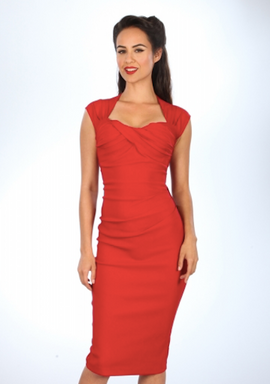Stop Staring! Love Dress in Red