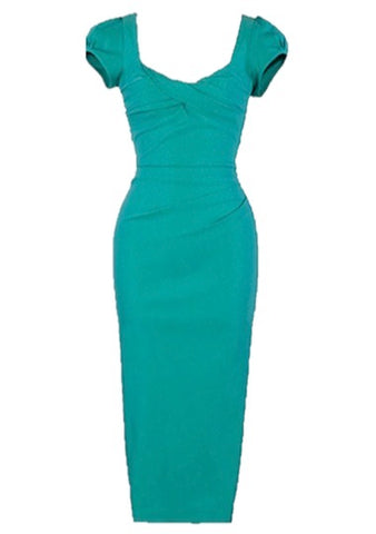Stop Staring! Billion Dollar Baby in Sea Foam Green