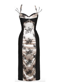 Stop Staring! Rica Dress in Black Lace