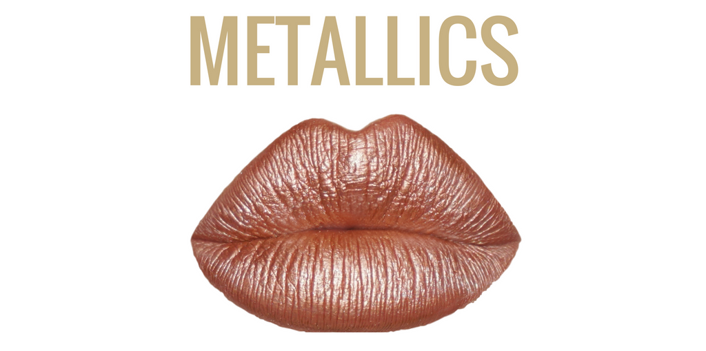 matte metallic lip color