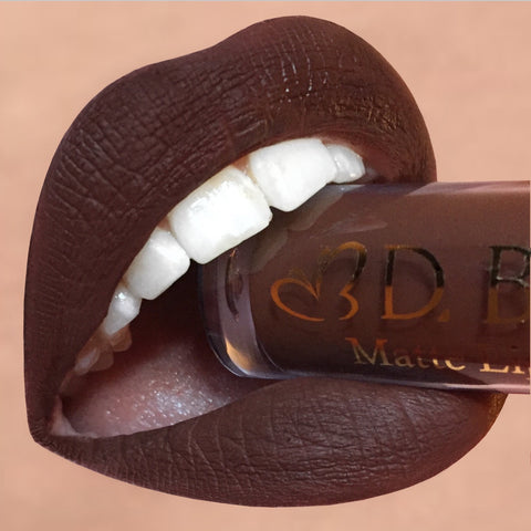 Matte Lip Colour- Dark Chocolate
