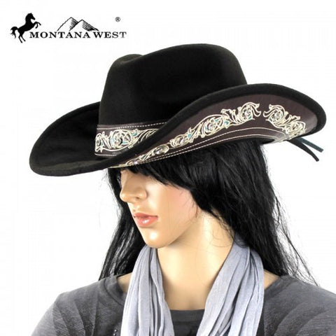 COWGIRL HAT - COFFEE (L/M/S)