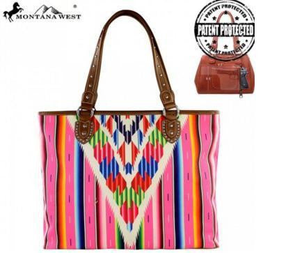 Serape Concealed Handgun Collection Handbag