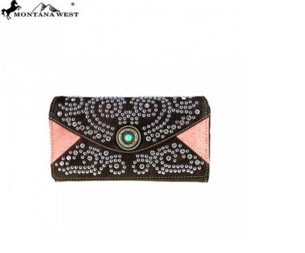 BLING BLING COLLECTION SECRETARY STYLE WALLET - CF