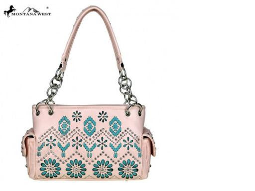 AZTEC COLLECTION CONCEALED SATCHEL BAG