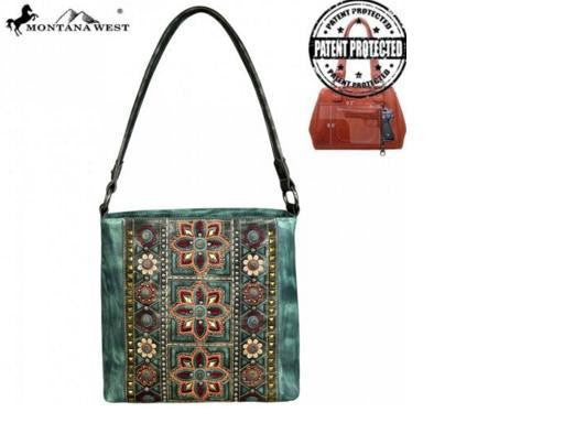 CONCHO COLLECTION HOBO - TURQUOISE