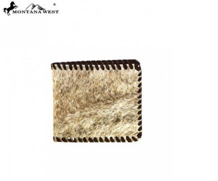 GENUINE LEATHER HAIR-ON COLLECTION MEN'S WALLET - TN