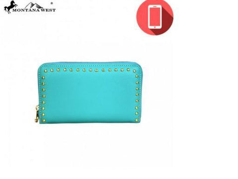 PHONE CHARGING STUDS COLLECTION WRISTLET - TURQUOISE
