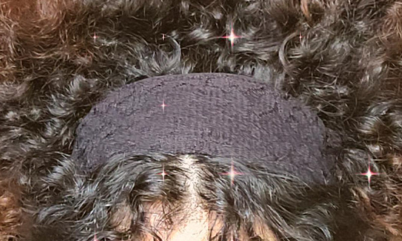 Black Lace Hair Band