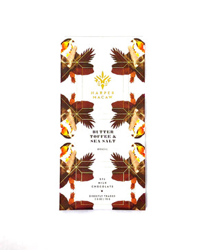 BUTTER TOFFEE & SEA SALT - 57% MILK CHOCOLATE