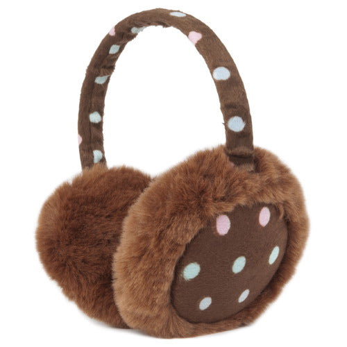 "Momo Grow ""Katie"" Polka Dot Earmuffs (Adult & Kids)"
