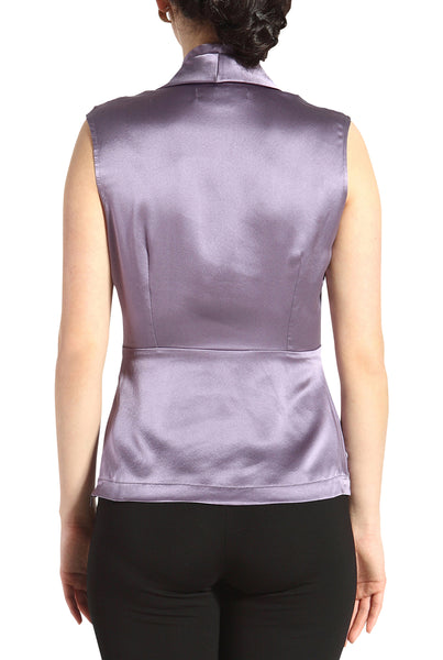 PHISTIC Women's 'Lori' Drape Neck Silk Blouse