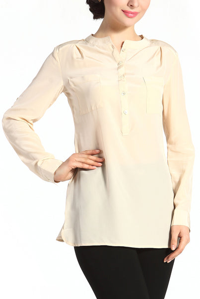 PHISTIC Women's 'Penny' Silk Blouse