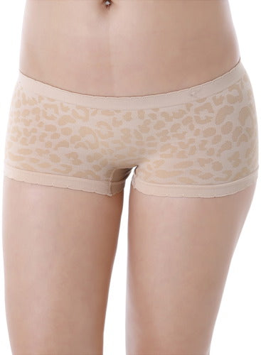 Phistic Women's It Seams Scalloped Leopard Print Hipster