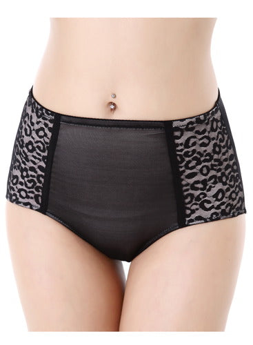 phistic Women's Leopard Print Shapewear Brief